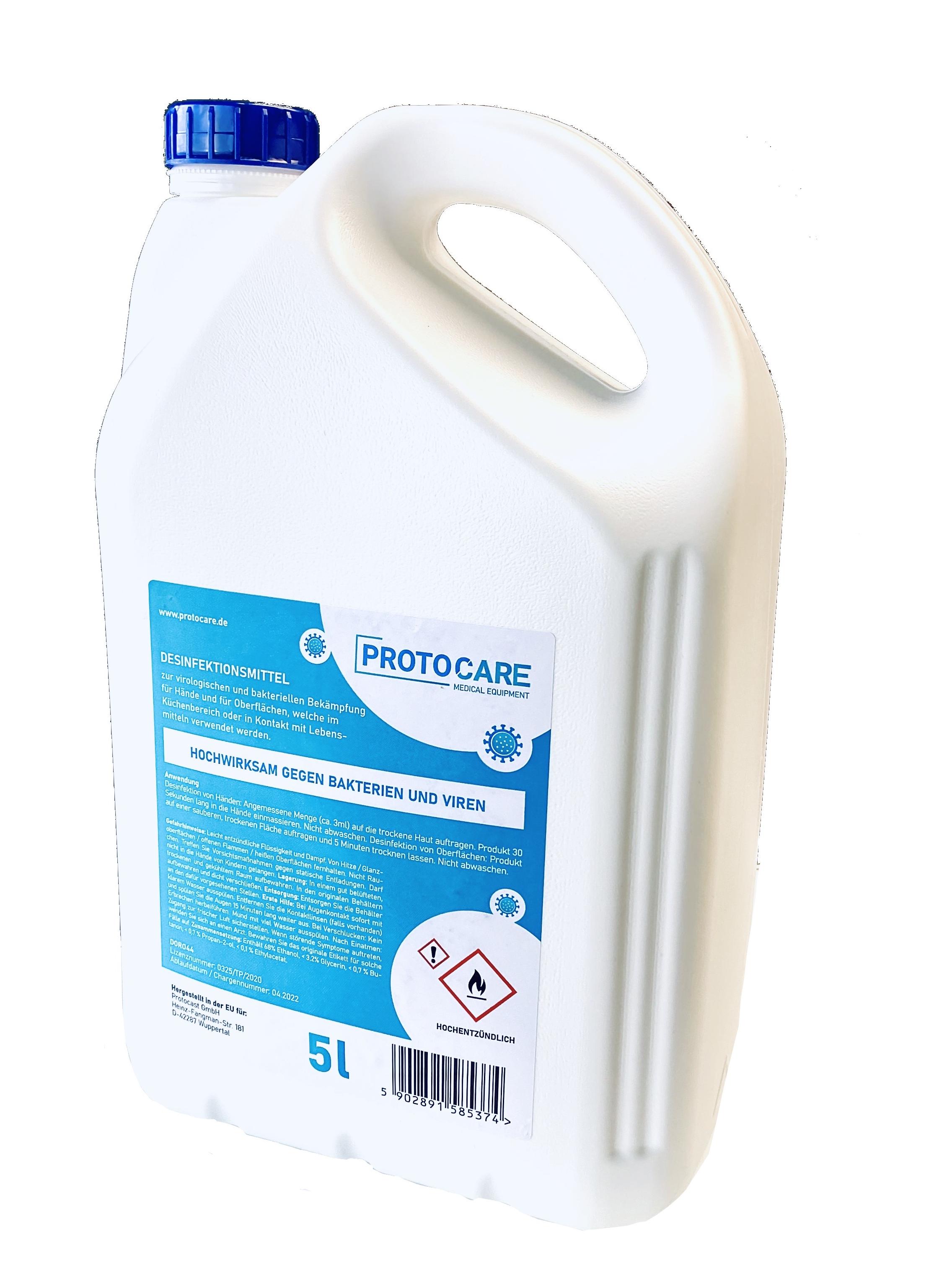 Protocare 5 Liter  - Desinfektionsmittel